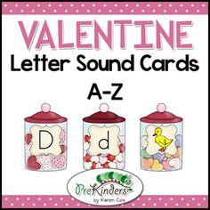 Winter Penguins Letter Sound Cards AZ  Penguins Winter and