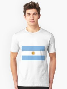"""Flag of Colorado. The flag of the state of Colorado is a bicolor horizontal triband of blue and white charged with a circular red letter """"C"""" filled with a golden disk. Flag Design, Retro, My T Shirt, Tshirt Colors, American Flag, Chiffon Tops, Classic T Shirts, Shirt Designs, Mens Tops"""