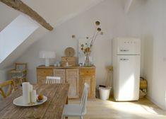 Une salle à manger champêtre, Chez Lucille du blog lgb-etc