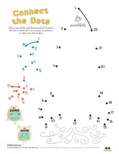 Connect the Nuts Activity Sheets from The Nuts: Bedtime at the Nut House