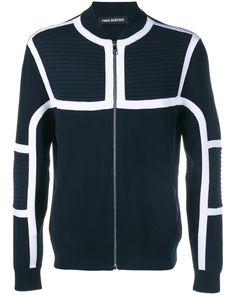 4522347f908 Neil Barrett | Black Geometric Panelled Bomber Jacket for Men | Lyst  Clothes 2018, Neil