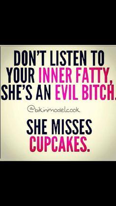 Fat girl!!