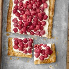 Quick and Easy Raspberry Tart