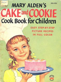 Vintage Children's Cook Book