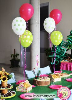 Temática Masha y el Oso galletas y brownie - Masha and the bear party themed