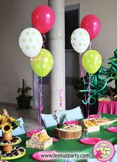 Temática Masha y el Oso galletas y brownie - Masha and the bear party themed
