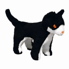 $14.52-$9.99 VIP Products Mighty Ginger McFluff Jr. Farm Dog Toy, Black and White - Ginger McFluff Jr. - A purrrrfect playmate for your precious pooch!  Ginger is a strong yet tender kitty who wants to be your dog's best friend!  Mighty dog toys rethink durability and approach it from a new angle.  Durability is created for each toy with multiple layers of flexible materials that move with the do ...