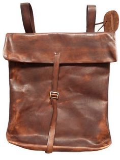 leather back pack lust