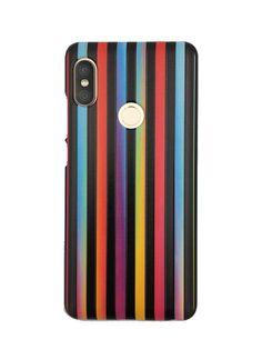 efd5633e58 Rainbow Multicolour Vertical Stripes on Black Mobile Back cover Case for  Xiaomi Redmi Note 5 Pro