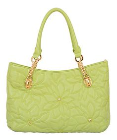 Another great find on #zulily! Lime Pixie Tote by Mellow World #zulilyfinds