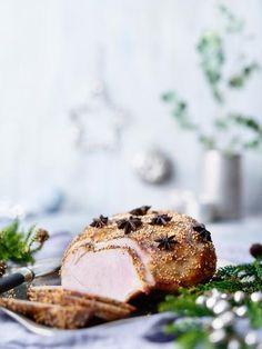 Jääkinkku | Maku Christmas Treats, Camembert Cheese, Dairy, Baking, Food, Xmas, Salad, Cakes, Cake Makers