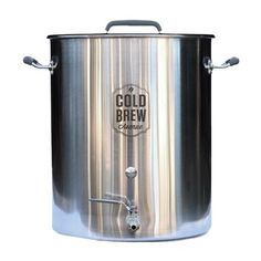 Stainless Steel Cold Brew Coffee System (Large Batch/Commercial)