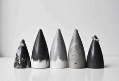 Concrete Ring Cone / Ring Holder by foxandramona on Etsy