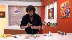 Jorge Rubicce - Bienvenidas TV en HD - Modela una rosa en Goma Eva.