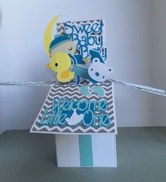 A personal favorite from my Etsy shop https://www.etsy.com/listing/468889649/3-d-new-baby-baby-shower-new-arrival-pop