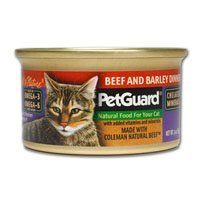 PetGuard Cat Beef And Barley Dinner 3 Ounce Canned Wet Food, Pack of 24