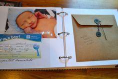 DIY Baby Memory Book Ideas