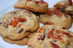 Bacon Chocolate Chip Cookies #FoodRepublic #ShineSupperClub