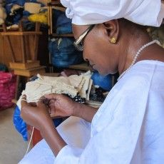 Chrissie Lam is undertaking a great project within Africa to enable artisans greater and more sustainable global market access.