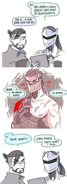 After seeing Genji's new Blackwatch skin