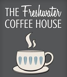 The branding we created for the Freshwater Coffee House. Fresh Water, Branding, Coffee, Logos, House, Home Decor, Kaffee, Brand Management, Decoration Home