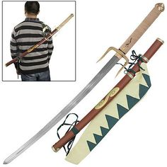 Samurai Champloo Mugen Anime Katana Japanese Katana Replica Costume Sword