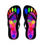 hippy flip flops - http://www.cafepress.com/krs_creations/8357078   #fashion #shoes
