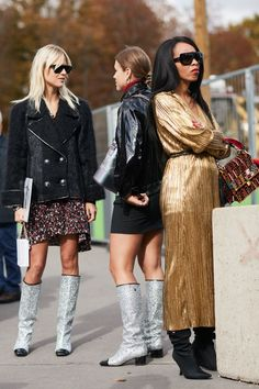 See all the most covetable street style looks from Paris Fashion Week.
