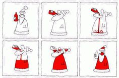 Funny Father Christmas pictures and stories. Also Santa Claus jokes. What's the best Christmas present a child could get? Xmas Jokes, Christmas Jokes, Christmas Cartoons, Christmas Wine, Christmas Greetings, All Things Christmas, Christmas Cards, Merry Christmas, Father Christmas