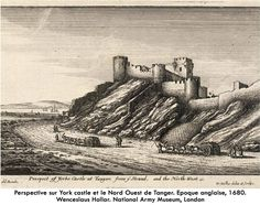 'Prospect of York Castle at Tangier and the North West, Monuments, Tanger Morocco, Amsterdam, York Castle, Walled City, Fortification, Classic Image, Canvas Prints, Art Prints