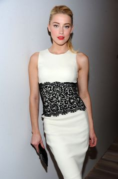 Amber Heard - Michael Kors - Backstage Fall 2012, Mercedes-Benz Fashion Week