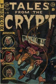 Creepy Comics, Horror Comics, Horror Posters, Pulp Fiction Book, Horror Fiction, Vintage Comic Books, Vintage Comics, Vintage Art, Book Cover Art