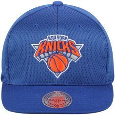 f76e595cfe1 Men s New York Knicks Mitchell   Ness Royal Jersey Mesh Snapback Adjustable  Hat  Mitchell