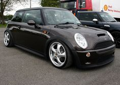 BMW Mini Cooper S Porshe Alloys by ShaunPG, via Flickr