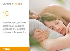 Il letto è per dormire e fare sesso: evitate di utilizzarlo per lavorare o passarci le giornate #dormire #bene #dormire #fa #bene #consigli #fabe