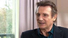 """VIDEO: Liam Neeson talks about Taken 3, his love of fight scenes and his """"trusty travel mug"""". http://bbc.in/14hk1bC"""