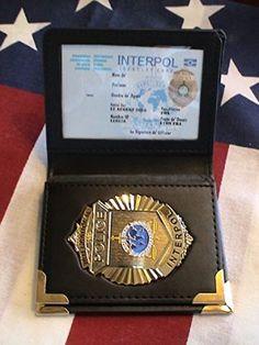 International Police (Interpol) badge | Flags & Symbols ...
