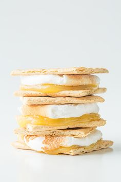 Lemon meringue pie smores- I think I should probably make this right now.