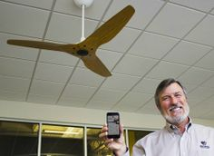 World's First Smart Ceiling Fan - Techlicious