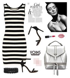 """Yoins 7"" by partoffashion ❤ liked on Polyvore featuring Whiteley, Bling Jewelry, MAC Cosmetics, Lime Crime and yoins"