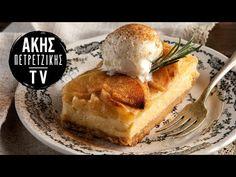 (724) Στρούντελ μήλου με κρέμα σιμιγδάλι | Άκης Πετρετζίκης - YouTube Camembert Cheese, Waffles, French Toast, Food Porn, Sweets, Breakfast, Youtube, Morning Coffee, Gummi Candy