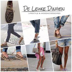 Ze zijn onderweg en wij verwachten ze deze week binnen de #nieuwe #modellen #gaimo #espadrilles! www.deleukedingen.nl