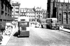 Lothian Road approaching the West End of Princes Street - 1959 Old Town Edinburgh, Edinburgh Castle, Edinburgh Scotland, Scotland Travel, Grandparents Day, West End, Capital City, Great Pictures, Buses