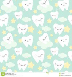 cartoon-teeth-cute-colorful-seamless-pattern-background-illustration-vector-61909763.jpg (1300×1390)