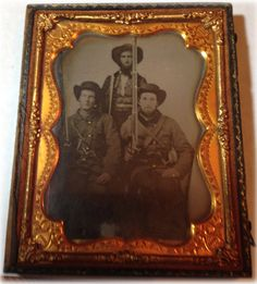 Moments in Time, A Genealogy Blog: Friday's Photo - Three Civil War Soldiers