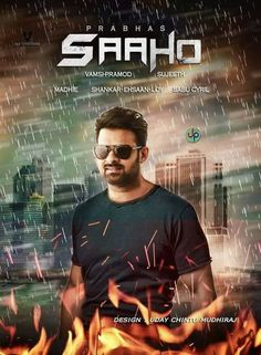 Baahubali actor Prabhas and Shraddha Kapoor shared a new poster of their soon-to-release film Saaho on their respective social media pages. The poster captures a romantic moment between Shraddha and Prabhas. Telugu Movies Download, Dj Movie, Movie Photo, Lucy Movie, 4k Wallpaper Download, Wallpaper Downloads, Tomb Raider Full Movie, Bahubali Movie