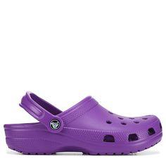 Women S Shoes Velcro Straps I Love My Shoes, Dream Shoes, Cute Shoes, Me Too Shoes, Neon Purple, Girls Clogs, A Line Denim Skirt, Crocs Classic