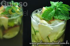 Para continuar no clima de drinks para celebrações, apresento hoje a deliciosa e exótica receita de Coquetel de Frutas com Pepino! Além de ficar com um ...