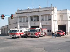 San Antonio Central Fire Department which was featured in the Ghostbusters movie in San Antonio, Texas