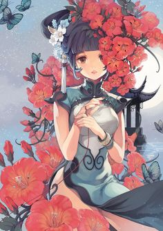 CKYM's Shouka 霄花 http://www.pixiv.net/member_illust.php?mode=medium&illust_id=28111144